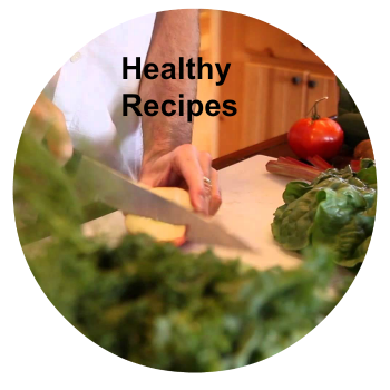 healthy recipes circle